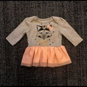 Tutu with fox constellation dress size 3m